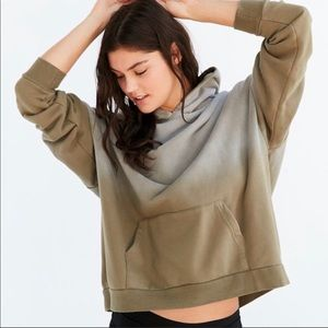 Urban outfitters Boyfriend army green hoodie S